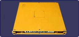 Large Industrial Low Profile Floor Scales