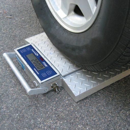 Portable Wheel Weigher Weighing Truck Wheel