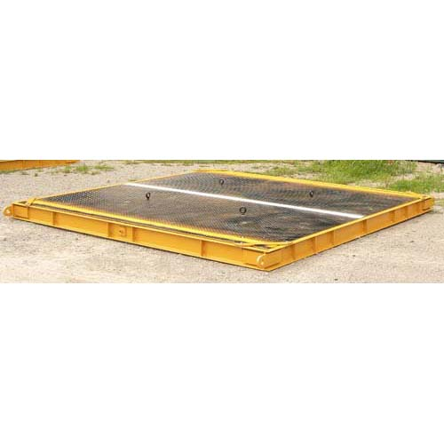 USED 15' long x 11' wide portable axle scale 30 ton capacity