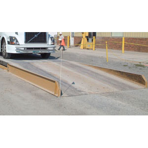 USED Sloped Approach Ramp - 15' long x 10' wide x 15-1/2'' high