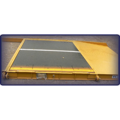 Portable Axle Scale 10'x10' w/ramps