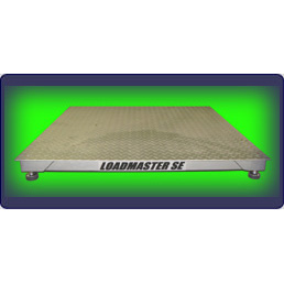6,000 (x 1) lb 4'x4' Low Profile Floor Scale