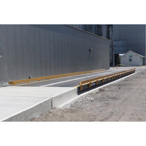 Above Ground Truck Scale - 135 ton Gross Cap (6 Section / 50 ton CLC)