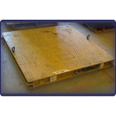10,000 (x 2) lb 4'x4' Floor Scale (Weekly)